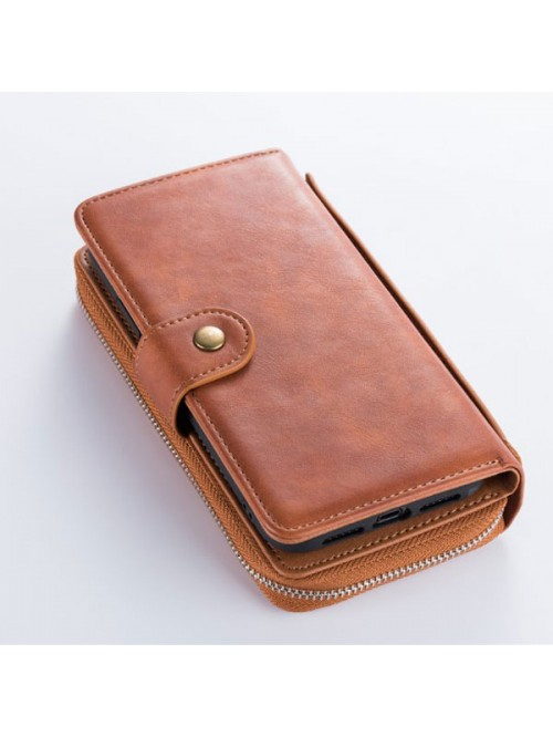 iPhone X Multifunctional Leather Wallet Detachable Case