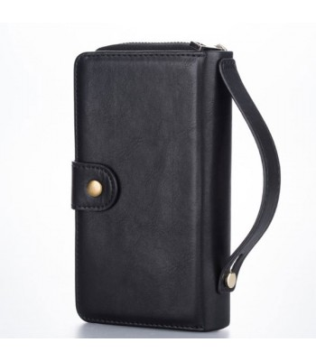 iPhone XR Multifunctional Leather Wallet Detachable Case