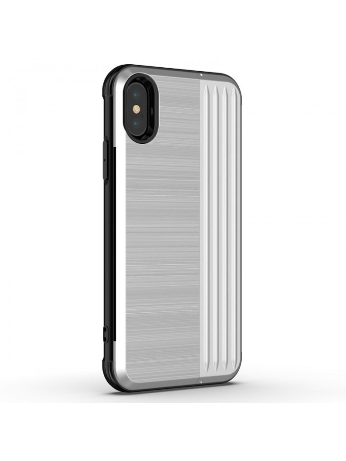 iPhone X Tough Durable Case With Hidden Card Holder &Kickstand