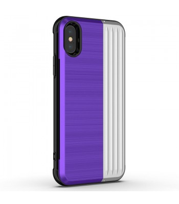 iPhone Xs Tough Durable Case With Hidden Card Holder &Kickstand