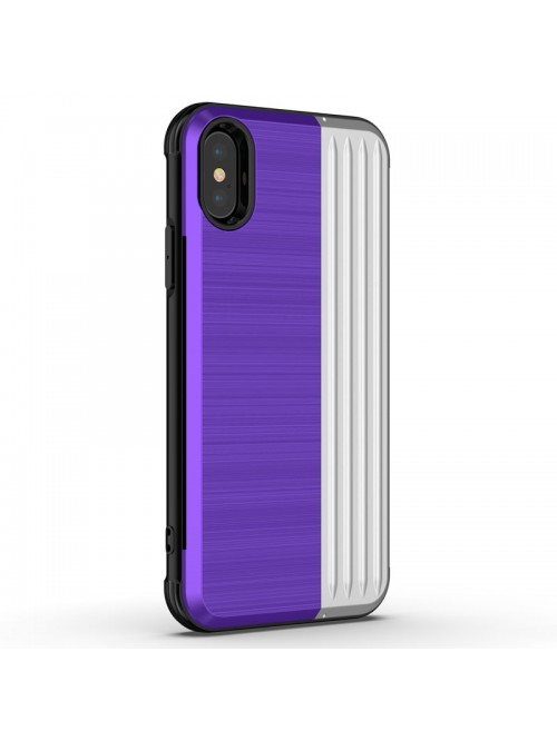 iPhone Xs Tough Durable Case With Hidden Card Holder &Kickstand