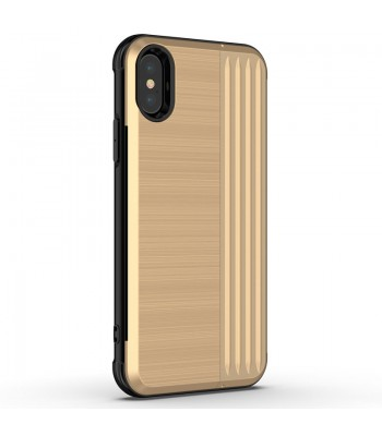 iPhone Xs Max Tough Durable Case With Hidden Card Holder &Kickstand