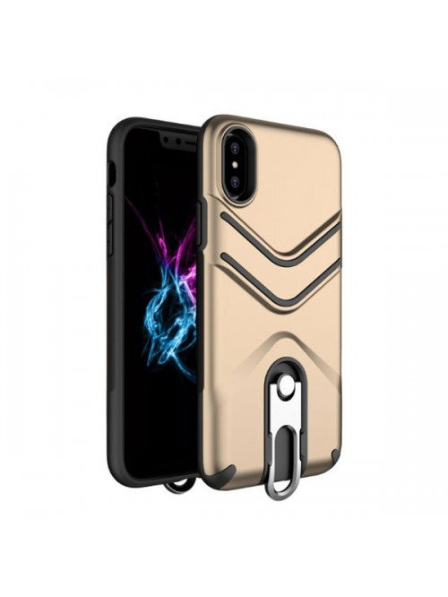 iPhone X Rugged Armor Protective Case With Kickstand