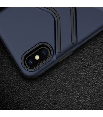 iPhone Xs Rugged Armor Protective Case With Kickstand