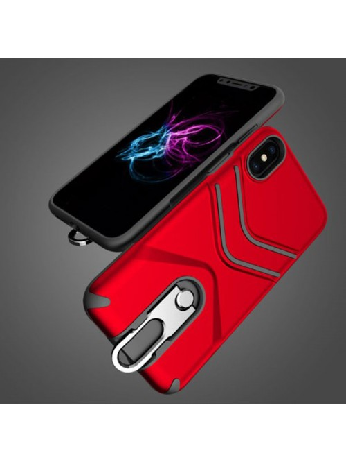 iPhone XR Rugged Armor Protective Case With Kickstand