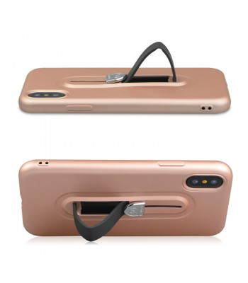 iPhone Xs Max Tough Slim Fit Case With Hidden Kickstand