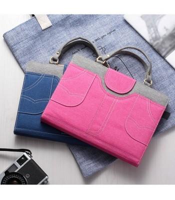iPad Air 1/2 Leather Women Handbag Protective Cover