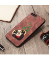 iPhone 3D Cartoon Embroidered Case
