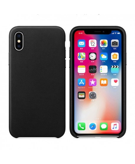 iPhone X Handcraft Genuine Leather Case