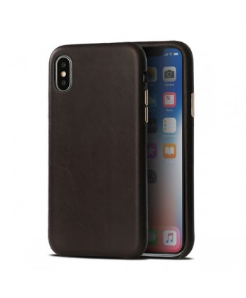 iPhone X Luxury Genuine Leather Case