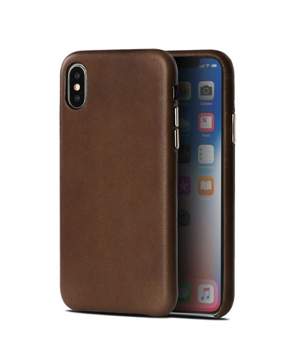 iPhone XR Luxury Genuine Leather Case