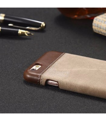 iPhone 8/8 Plus Slim Color Block Leather Case
