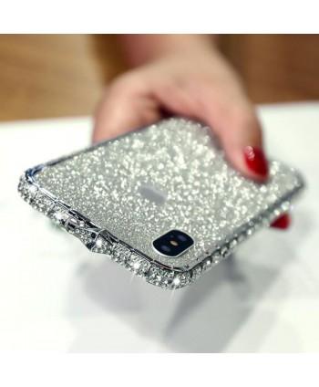 iPhone Xs Glitter Rhinestone Bumper Case