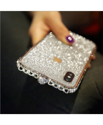 iPhone X Sparkle Rhinestone Bumper Case