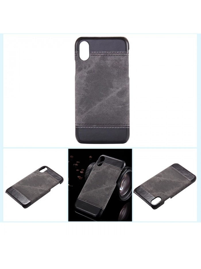 iPhone 7/Plus Slim Color Block Leather Case