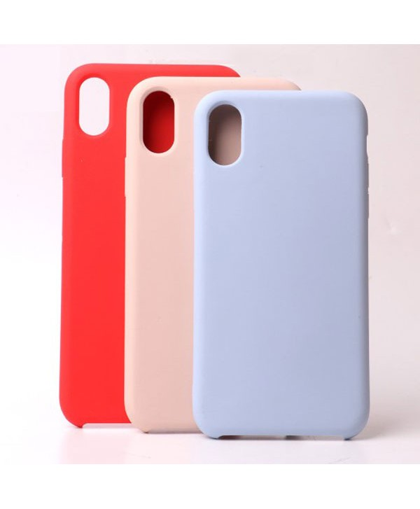 iPhone XR Soft Liquid Silicone Case