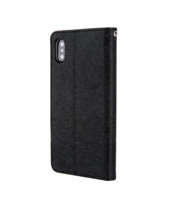 iPhone X Leather Flip Case With Card Holder