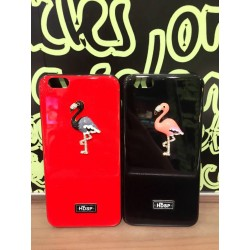 Elegant bling flamingo TPU iphone case b