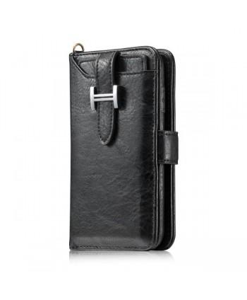 iPhone X Magnetic Detachable Wallet Leather Case