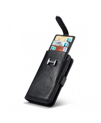 iPhone Xs Max Magnetic Detachable Wallet Leather Case
