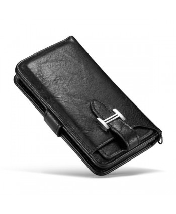 iPhone XR Magnetic Detachable Wallet Leather Case