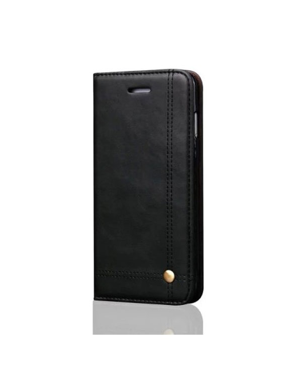 iPhone X Leather Folio Case With Card Holder