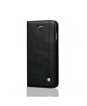 iPhone Xs Leather Folio Case With Card Holder