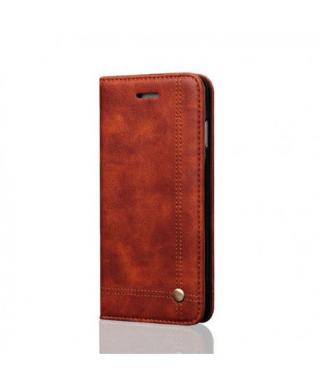 iPhone XR Leather Folio Case With Card Holder