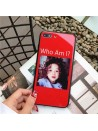"iPhone 8/Plus Glossy Blu-ray Cute Girl ""Who Am I"" Case"