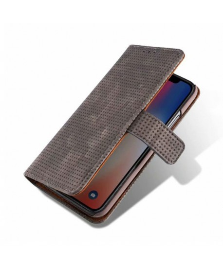 iPhone XR Leather Folio Book Style Case