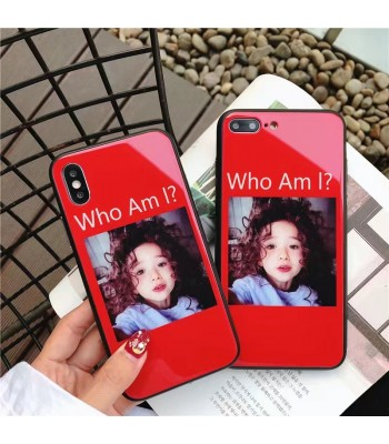 "iPhone 7/Plus Glossy Blu-ray Cute Girl ""Who Am I"" Case"