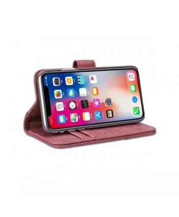 Vintage Leather Flip Case For iPhone Xs Max