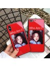 "iPhone 6/Plus Glossy Blu-ray Cute Girl ""Who Am I"" Case"