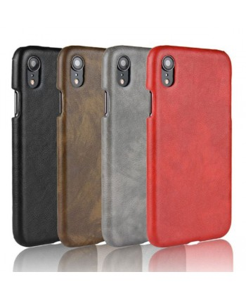 iPhone Xs Max Slim Fit Leather Back Case