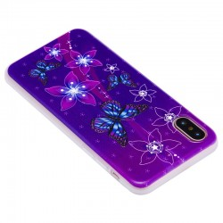 iPhone 3D Relief Butterfly Slim Shockproof Case