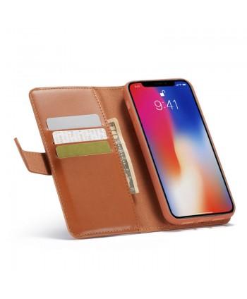 iPhone X Magnetic Detachable Leather Wallet Case