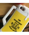 iPhone 3D Beer Cup Silicone Protective Case