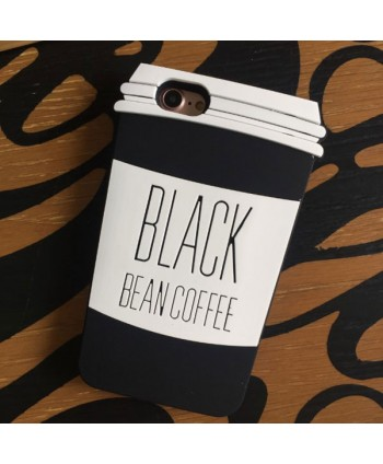 iPhone 3D Coffee Cup Silicone Protective Case
