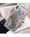 iPhone Liquid Glitter Gold Quicksand Dollar Case