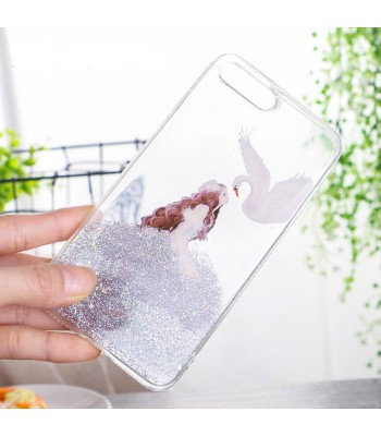 Flicker Powder Iphone Cases - Princess And Swan Bundle (4 Cases Included)