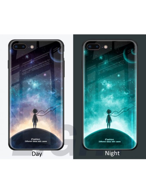 Luminous Tempered Glass iPhone Case Bundle - The World We Live In (3 Cases Included)