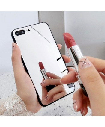 iPhone Makeup Mirror Shockproof Protective Case