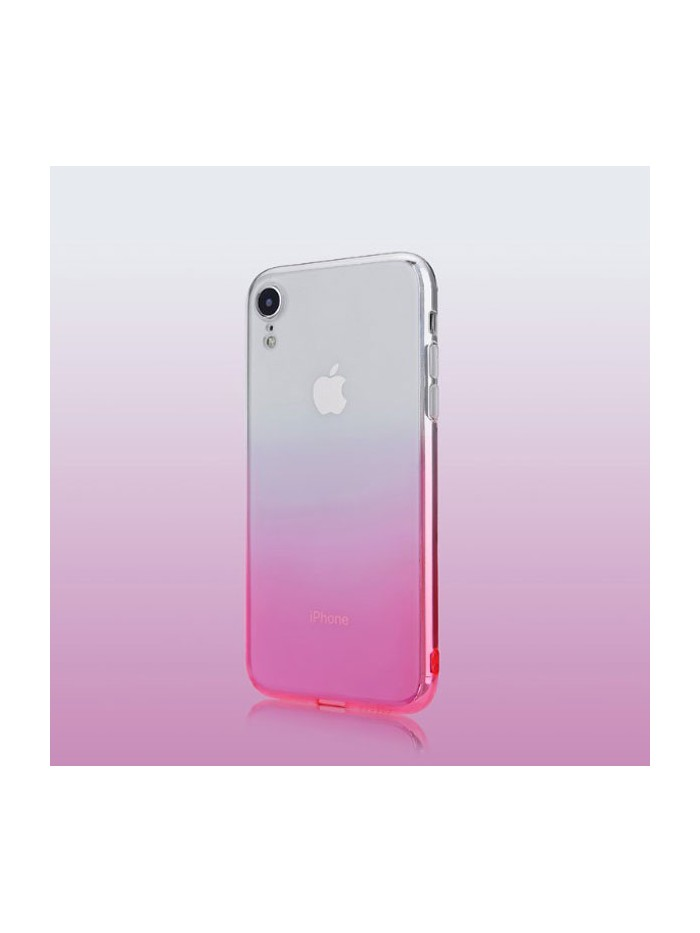 Gradient Slim Fit Clear iPhone XR Case