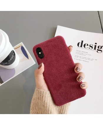 iPhone X Slim Corduroy Protective Case