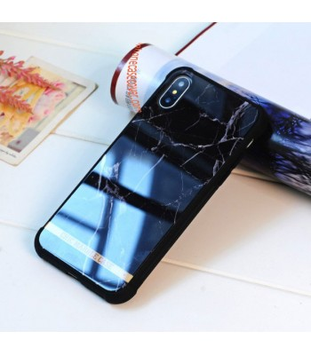 Shock Resistant Air Sac Marble Cases For iPhone  X