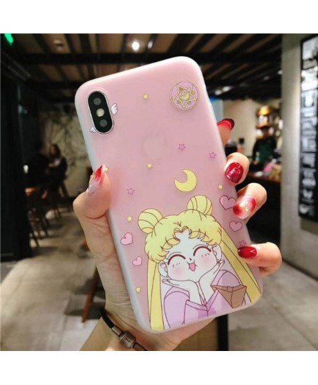 iPhone XS Max 3D Relief Cartoon Sailor Moon Case