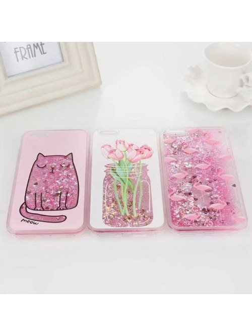 Dynamic iPhone Cases Bundle - The Tulips, The Cat, And The Flamingos (3 Cases Included)