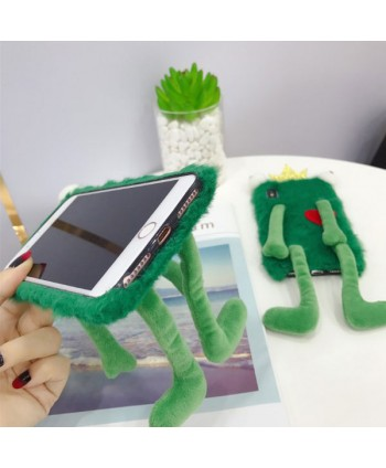 iPhone Creative 3D Fuzzy Frog Case