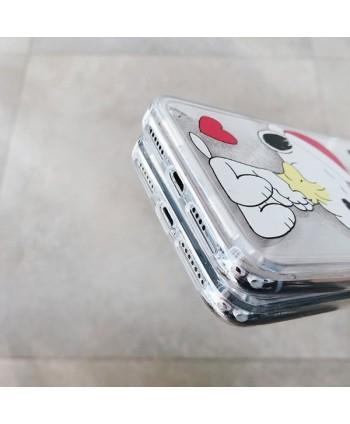 iPhone Snoopy Liquid Glitter Quicksand Case