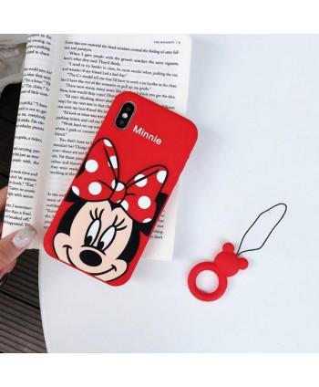 iPhone Cute Cartoon Minnie Mouse Case
